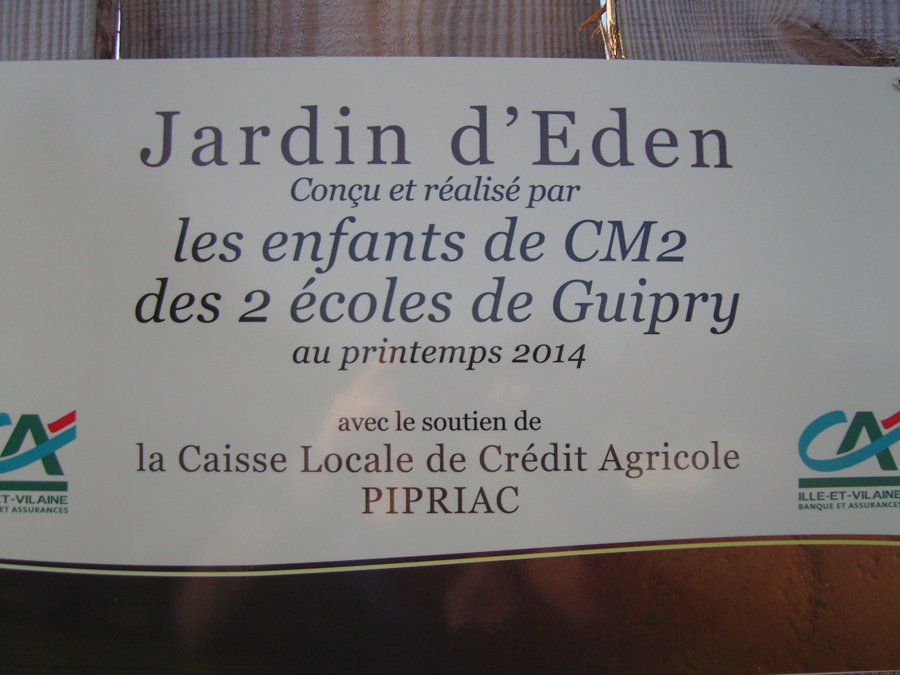 Jardin for Au jardin d eden evian