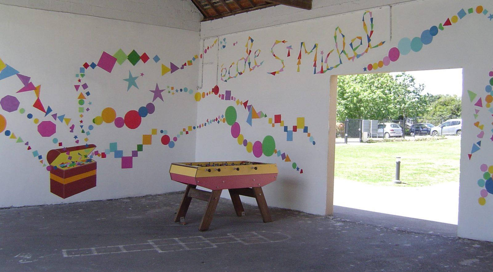 L'école Saint Michel à Guipry